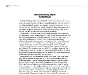 Custom descriptive essays