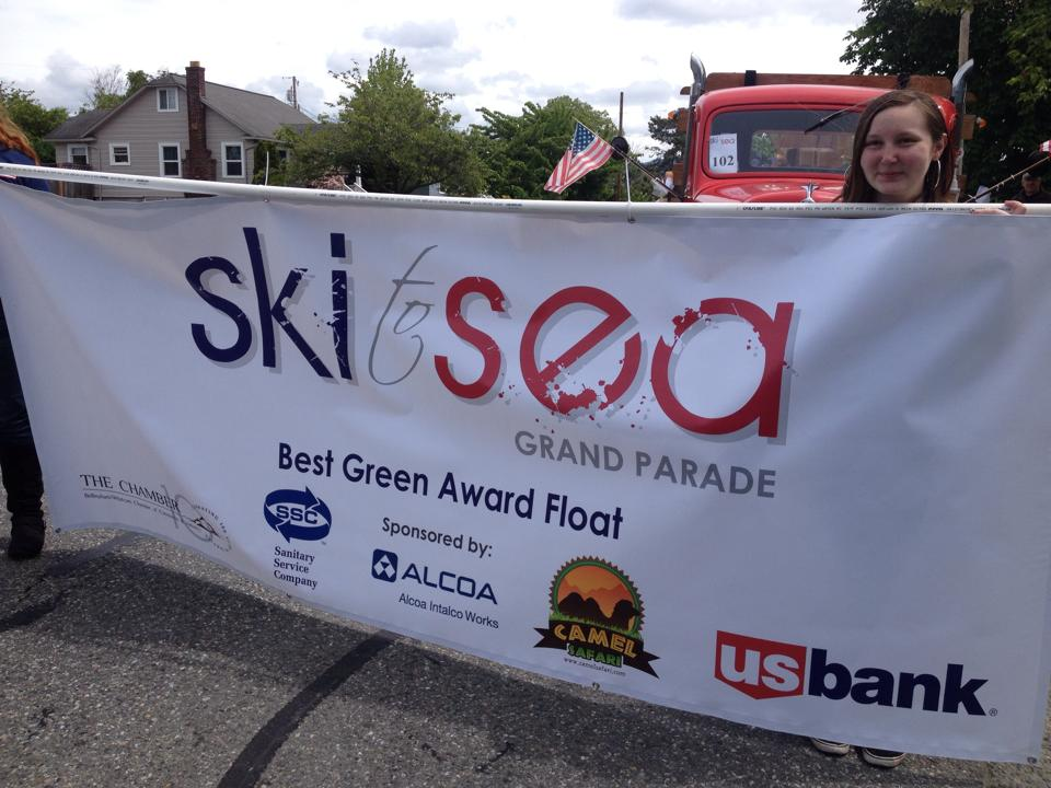 Ski to Sea Float