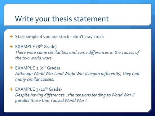 Write A Thesis Statement - Write My Custom Paper.