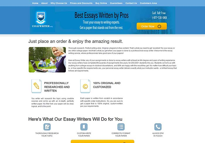 Best Site For Essay Writing